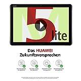 Huawei MediaPad M5 lite LTE Tablet-PC 25,6 cm (10,1 Zoll), Full HD, Kirin 659, 3 GB RAM, 32 GB interner Speicher, Android 8.0, EMUI 8.0, grau