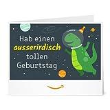 Amazon.de Gutschein zum Drucken (Ausserirdischer Geburtstag)