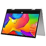 Jumper EZbook X1 Laptop 11,6 Zoll FHD 6GB DDR3 128GB eMMC,360° Convertible Notebook Windows 10 Touchscreen Ultrabook Tablet PC Celeron Quad Core Prozessor Unterstützt TF Card und SSD Extension
