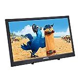 JOHNWILL tragbarer Monitor Zoll IPS-Bildschirm Full HD 1920 x 1080 Monitor tragbare ultradünne Schwarze Metallschale Eingebauter Lautsprecher, Kompatibel mit Laptop,Raspberry Pi (11.6 Zoll dünn)
