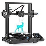 Creality 3D Drucker Ender 3 V2 mit 32 Bit Silent board, Meanwell-Netzteil, Carborundum-Glasplattform und Lebenslaufdruck 220 x 220 x 250 mm