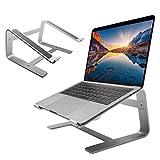 Macally ASTAND, Notebook Ständer aus Aluminium für Apple MacBook, MacBook Air, MacBook Pro und alle Laptops von 10 bis 17, edles und elegantes Alu Design