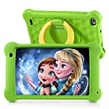 Kinder-Tablet, 2 GB RAM, 32 GB ROM, 7-Zoll-IPS-FHD-Display, Android 10.0 WiFi-Tablets für Kinder Kids Jungen Mädchen, Grün