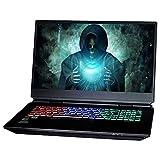 NEXOC Gaming Notebook (17,3 Zoll Ultra HD) mit i9-10900K (5,30 GHz Turbo), RTX 3080 16GB, 500GB SSD, 3X 1TB SSD, 128GB DDR4 RAM, Windows 10 Pro (GX7 938IG 21V1.2)