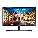 Samsung C24F396FHR 60,9 cm (24 Zoll) Curved Monitor, schwarz