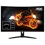 AOC Gaming C32G1 - 32 Zoll FHD Curved Monitor, 144 Hz, 1ms, FreeSync Premium (1920x1080, HDMI, DisplayPort) schwarz/rot