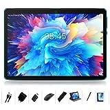 Tablet 10 Zoll Android 10.0 Ultrar-Schnell MEBERRY Tablet PC-Mit Acht-Kern-Prozessor:4GB RAM 64GB ROM,1280 x 800 HD IPS,5.0+8.0 MP Kamera(8000mAh ,WI-FI,Bluetooth,GPS)- Blau