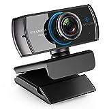 LOGITUBO HD Webcam 1080P Streaming Kamera mit Mikrofone Video Chat und Aufnahme PC Web Cam für Windows Mac Xbox One unterstützung OBS Facebook