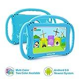 Tablet für Kinder,7 Zoll Kinder Tablet mit Kindersicherungsmodus,2GB+16GB Speicherraum,Android 8.1,2Mp Kamera,Screen Augenschutz,WiFi,Bluetooth & Google Play,Silikon Hülle Tablet